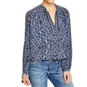 Rebecca Taylor Paisley silk top